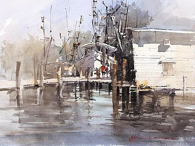 Vladislav Yeliseyev 3 Day Watercolor Workshop Watercolor Society